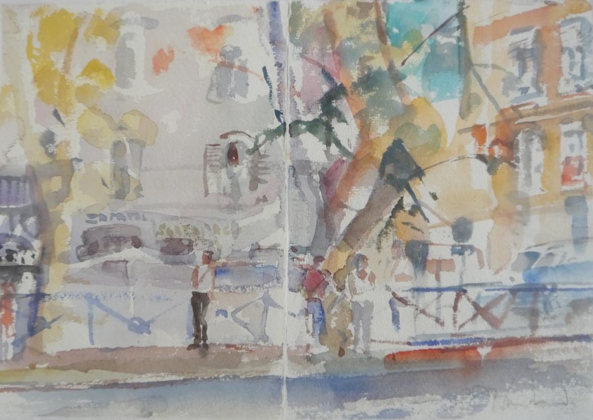 A Parisien Street